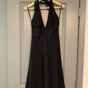 Chic, Deep V-Neck Dress